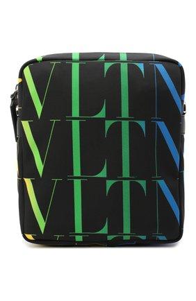 Мужская текстильная сумка vltn VALENTINO черного цвета, арт. VY2B0942/MVX   Фото 1