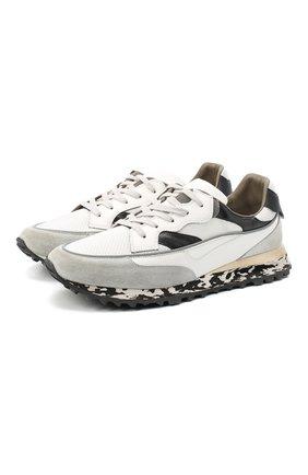 Мужские комбинированные кроссовки HIDNANDER черно-белого цвета, арт. HA1MS210 310 | Фото 1