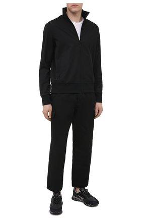 Мужские комбинированные кроссовки HIDNANDER черного цвета, арт. HA1MS210 310 | Фото 2