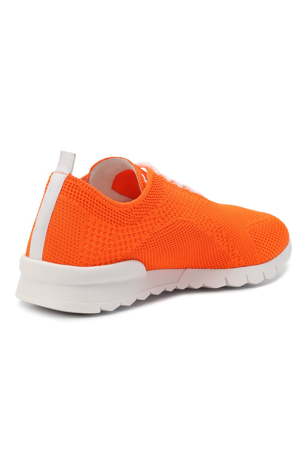 Мужские текстильные кроссовки KITON оранжевого цвета, арт. USSFITSN00809 | Фото 4