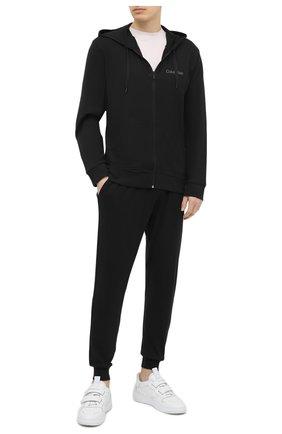 Мужской толстовка CALVIN KLEIN черного цвета, арт. NM1542E | Фото 2