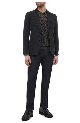 Мужской пиджак GIORGIO ARMANI темно-серого цвета, арт. 8WGGG02B/T02KM | Фото 2