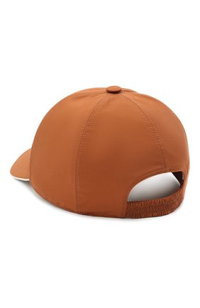 Мужской бейсболка LORO PIANA оранжевого цвета, арт. FAB1977 | Фото 2