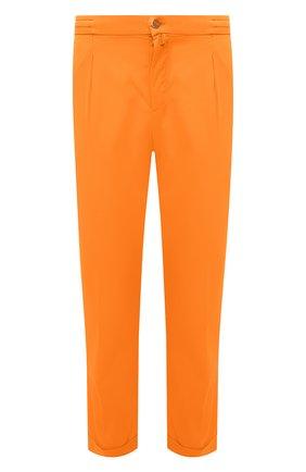 Мужские брюки KITON оранжевого цвета, арт. UFP1LACJ07T43 | Фото 1