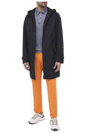 Мужские брюки KITON оранжевого цвета, арт. UFP1LACJ07T43 | Фото 2
