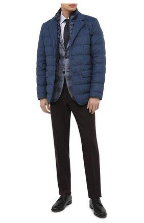 Мужские кожаные дерби HUGO черного цвета, арт. 50445827 | Фото 2