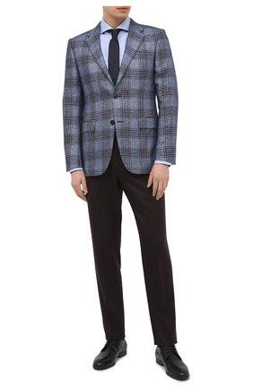 Мужские кожаные дерби HUGO черного цвета, арт. 50441010 | Фото 2