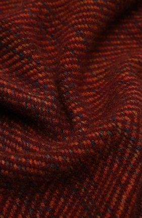 Мужской кашемировый шарф LORO PIANA бордового цвета, арт. FAL3812 | Фото 2
