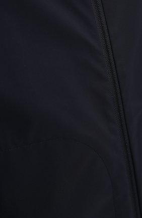 Мужская пуховая парка KITON темно-синего цвета, арт. UW0937MV07T96   Фото 5
