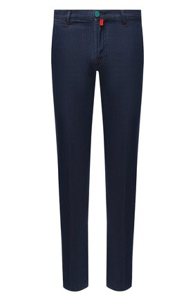 Мужские джинсы KITON синего цвета, арт. UFPP79J07T26 | Фото 1
