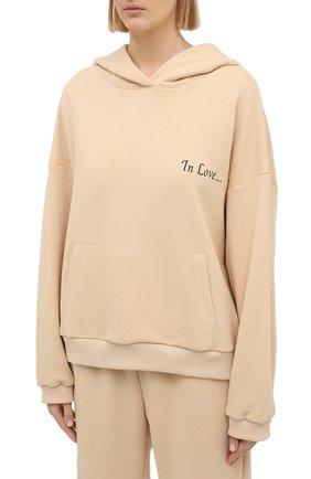 Женский хлопковый костюм SEVEN LAB бежевого цвета, арт. HP20-IL beige   Фото 2
