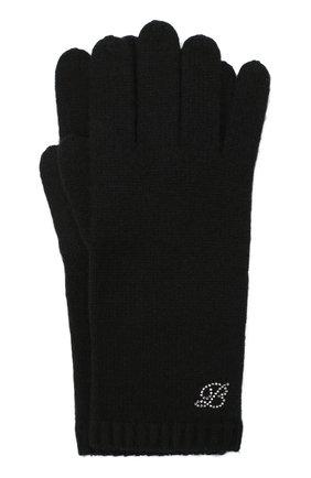 Женские кашемировые перчатки BALMUIR черного цвета, арт. 310005   Фото 1