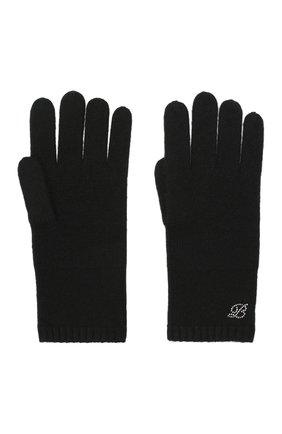 Женские кашемировые перчатки BALMUIR черного цвета, арт. 310005   Фото 2