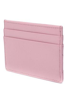 Женский кожаный футляр для кредитных карт DOLCE & GABBANA светло-розового цвета, арт. BI0330/AV967 | Фото 2