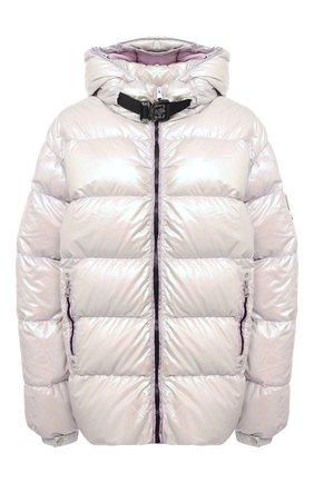Женская пуховая куртка 6 moncler х 1017 alyx 9sm MONCLER GENIUS светло-бежевого цвета, арт. F2-09Y-1B500-60-539ZM   Фото 1