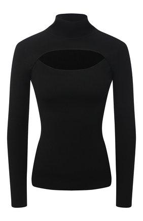 Женский пуловер DOROTHEE SCHUMACHER черного цвета, арт. 110104/0PEN MIND | Фото 1