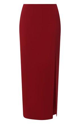 Женская юбка VALENTINO бордового цвета, арт. VB3RA77065C | Фото 1