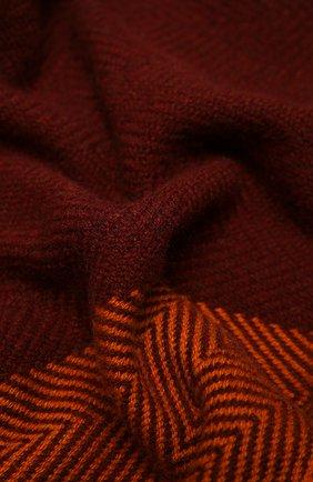 Женский кашемировый шарф LORO PIANA оранжевого цвета, арт. FAL3990   Фото 2 (Материал: Кашемир, Шерсть; Принт: С принтом)