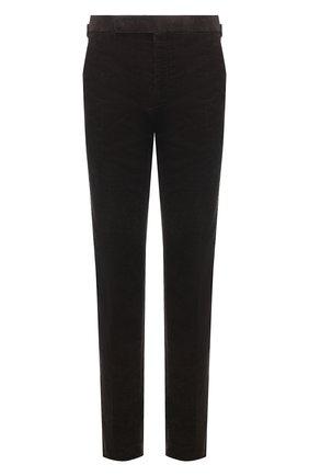 Мужские хлопковые брюки RALPH LAUREN коричневого цвета, арт. 798828105 | Фото 1 (Материал подклада: Вискоза; Длина (брюки, джинсы): Стандартные; Случай: Повседневный; Стили: Кэжуэл; Материал внешний: Хлопок)