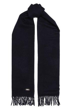 Мужской кашемировый шарф ZILLI темно-синего цвета, арт. MIQ-ALIZE-40825/0002 | Фото 1