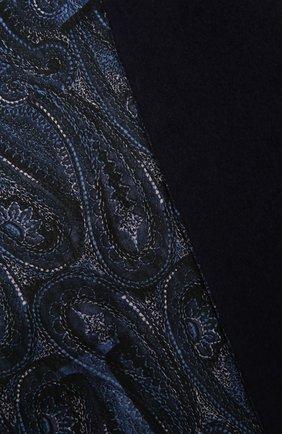 Мужской кашемировый шарф ZILLI темно-синего цвета, арт. MIQ-ALIZE-40825/0002 | Фото 2