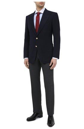 Мужской пиджак TOM FORD темно-синего цвета, арт. 950R30/11HA40 | Фото 2