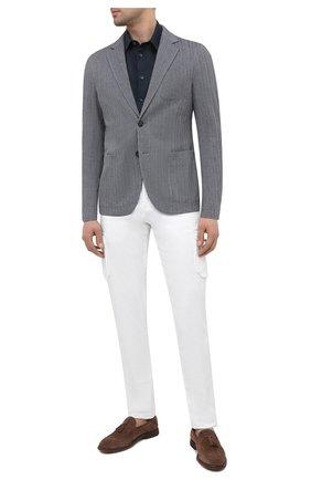 Мужской пиджак GIORGIO ARMANI серого цвета, арт. 8WGGG02B/T02GP | Фото 2