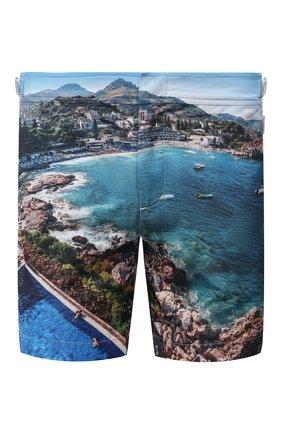 Мужские плавки-шорты ORLEBAR BROWN синего цвета, арт. 273245 | Фото 1