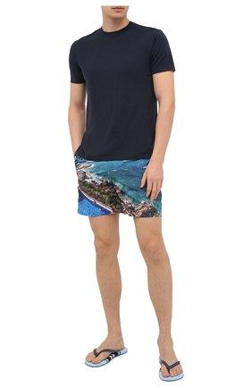 Мужские плавки-шорты ORLEBAR BROWN синего цвета, арт. 273245 | Фото 2