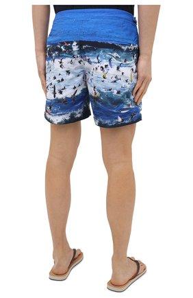 Мужские плавки-шорты ORLEBAR BROWN синего цвета, арт. 273243 | Фото 4 (Материал внешний: Синтетический материал; Принт: С принтом; Мужское Кросс-КТ: плавки-шорты)