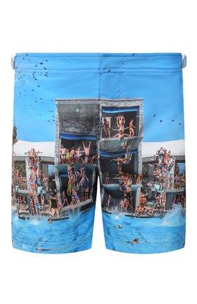 Мужские плавки-шорты ORLEBAR BROWN разноцветного цвета, арт. 273242 | Фото 1 (Принт: С принтом; Мужское Кросс-КТ: плавки-шорты; Материал внешний: Синтетический материал)