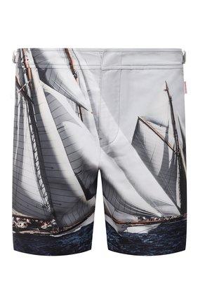 Мужские плавки-шорты ORLEBAR BROWN серого цвета, арт. 272689 | Фото 1
