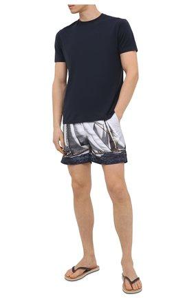 Мужские плавки-шорты ORLEBAR BROWN серого цвета, арт. 272689 | Фото 2