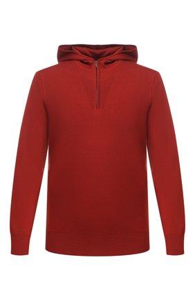 Мужской шерстяной джемпер LORO PIANA красного цвета, арт. FAI9822 | Фото 1