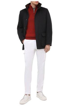 Мужская кашемировая куртка LORO PIANA черного цвета, арт. FAG3180 | Фото 2