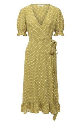 Женское платье из вискозы FAITHFULL THE BRAND зеленого цвета, арт. FF1570-BDF | Фото 1