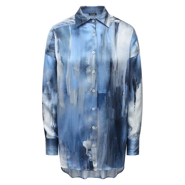 Шелковая рубашка Kiton