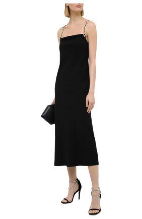 Женское платье DOROTHEE SCHUMACHER черного цвета, арт. 848305/GLAM0R0US STATEMENT | Фото 2