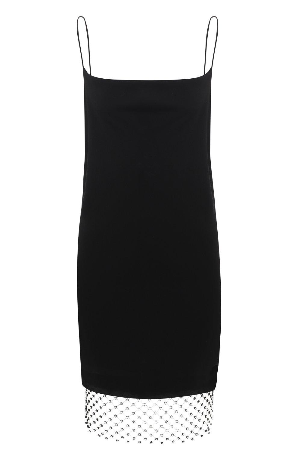 Женское платье DOROTHEE SCHUMACHER черного цвета, арт. 848306/GLAM0R0US STATEMENT | Фото 1 (Случай: Коктейльный; Материал внешний: Синтетический материал; Материал подклада: Синтетический материал; Длина Ж (юбки, платья, шорты): До колена; Рукава: Без рукавов; Стили: Романтичный; Женское Кросс-КТ: Платье-одежда)