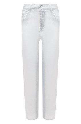 Женские джинсы 7 FOR ALL MANKIND белого цвета, арт. JSA7X370SC | Фото 1