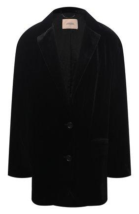 Женский жакет из вискозы DOROTHEE SCHUMACHER черного цвета, арт. 147902/VELVET SHIMMER | Фото 1