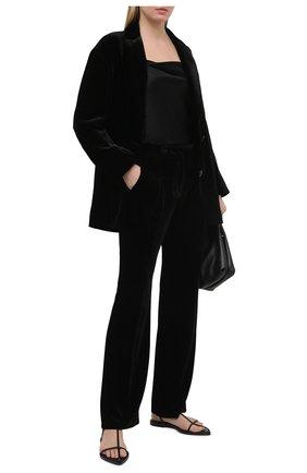 Женский жакет из вискозы DOROTHEE SCHUMACHER черного цвета, арт. 147902/VELVET SHIMMER | Фото 2