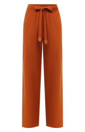 Женские кашемировые брюки LORO PIANA оранжевого цвета, арт. FAI6763 | Фото 1