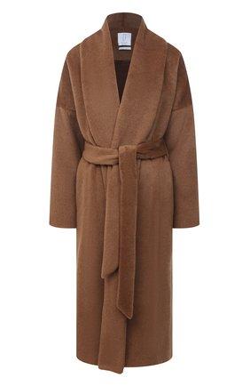 Женское шерстяное пальто DEVEAUX NEW YORK бежевого цвета, арт. F203-110-SPM1 | Фото 1