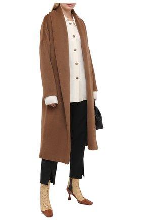 Женское шерстяное пальто DEVEAUX NEW YORK бежевого цвета, арт. F203-110-SPM1 | Фото 2