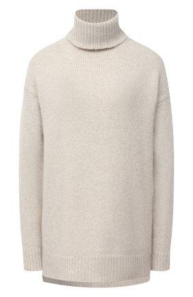 Женский кашемировый свитер DEVEAUX NEW YORK бежевого цвета, арт. F203-713-LP1 | Фото 1
