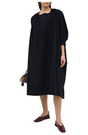 Женское платье DEVEAUX NEW YORK темно-синего цвета, арт. F203-805-ZT2 | Фото 2