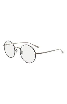 Женские солнцезащитные очки OLIVER PEOPLES серебряного цвета, арт. 1197ST-50761W | Фото 1