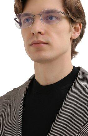 Мужские оправа CHOPARD черного цвета, арт. C74 568 | Фото 2