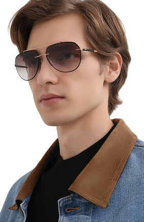 Мужские солнцезащитные очки SILHOUETTE черного цвета, арт. 8719/9030 | Фото 2